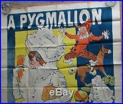 1 X Affiche A Pygmalion. Jouets / Etrennes. Format 119,8 X 158 Cm. Misti