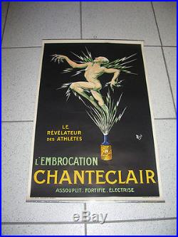1 affiche Stimulant pour sportif Chantecler par Mich