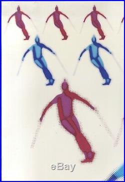 11th Interski Zao Japan 1979 /Affiche ancienne Japon/original ski poster