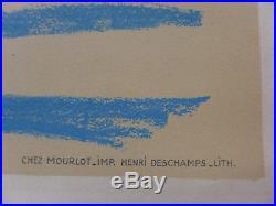 1964 PICASSO Lithographie MOURLOT très bon état