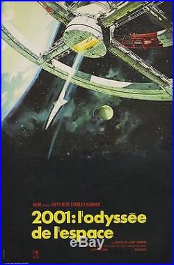 2001 L'ODYSSEE DE L'ESPACE (2001 A SPACE ODYSSEY) Affiche originale entoilée