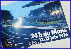 24 Heures Du Mans. 1 X Lot. 18 X Affiches. 1976. Ensemble En Tres Bel Etat