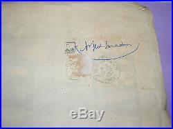 4232/ AFFICHE CONCOURS DE BOULES A SAINT SEVER 1957 PUBLICITAIRE RICARD PETANQUE
