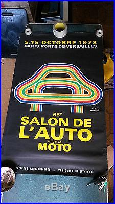 65e Salon de l'automobile et de la moto 1978 Morvan Porte de Versaille