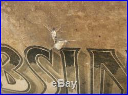 ABSINTHE OXYGENEE PREMIER LITHO ANCIENNE PUB BISTROT AFFICHE