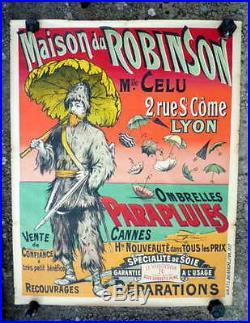 AFFICHE ANCIENNE AU ROBINSON