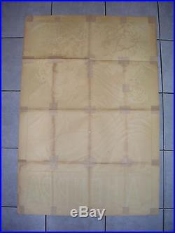 AFFICHE ANCIENNE LA HOUPPA 120x80 cm Années 1920
