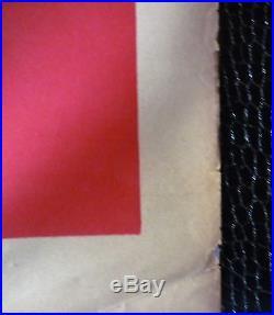 AFFICHE ANCIENNE ORIGINALE EN COULEUR 14-18 IMP BEDOS PARIS SIGNEE LOUIS TAUZIN