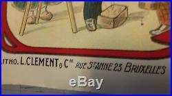 AFFICHE ORIGINALE / TRIO BARONASLITHO CLEMENT 1940