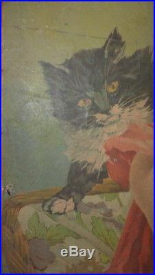 ANCIEN CARTON PUBLICITAIRE CHOCOLAT FELIX POTIN 1900 Affiche pub