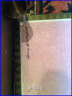 ANCIENNE AFFICHE AIR AFRIQUE ILLUSTRATION GUY GEORGET 105X95cm AVIATION VOYAGE