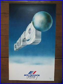 Affiche Air France Cargo Raymond Pages 100 x 60 cm