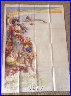 Affiche Ancienne 1900 Biarritz Pays Basque