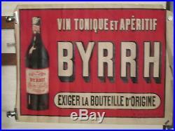 Affiche Ancienne Byrrh Bouteille P. O