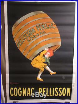 Affiche Ancienne Capiello Cognac Pelisson