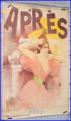 Affiche Ancienne Charles Lucas 1892 Apres