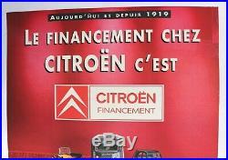Affiche Ancienne Jouets Citroen 5hp Hy 2cv Sm Ds Traction Mehari CX Bx