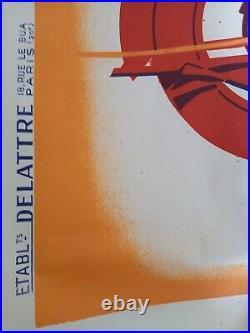 Affiche Ancienne Originale 1938