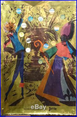 Affiche Ancienne Perrier Par Dali