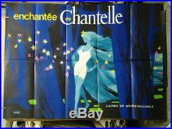 Affiche Ancienne Pub Sous Vetement Femme Chantelle Eric