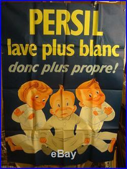 Affiche Ancienne Savon Persil Enfants 1960