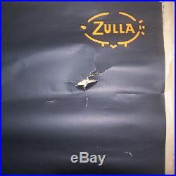 Affiche Ancienne Vintage Poster Liqueur Izarra Picador Zulla 130 X 194cm