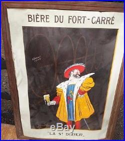 Affiche Authentique Bière du Fort Carré Cappiello