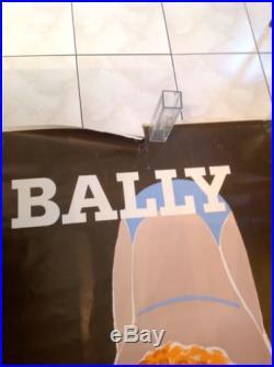 Affiche Bally Fix Masseau