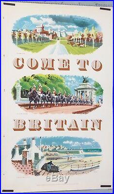 Affiche Britain Windsor Castle, Pageantry In London, A Cornish Fishing Village