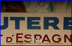 Affiche E Paul Champseix Cauterets Le Pont D Espagne Lucien Serre Po MIDI Z204