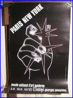 Affiche Expo Paris New York De Martial Raysse