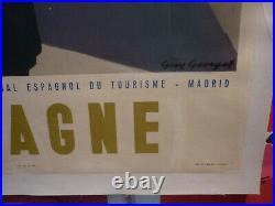 Affiche Georget entoilée Espagne circa 1940