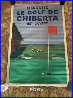 Affiche Golf de Chiberta / Jack Maxwell