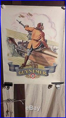 Affiche Guynemer Aviation 14-18 Raoul Auger