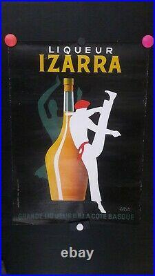 Affiche Izarra Liqueur Basque Paul Colin