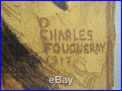 Affiche Journée de l'armée d'Afrique et des troupes coloniales Ch Fouqueray 1917