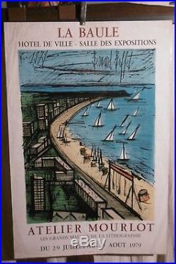Affiche La Baule Bernard Buffet Mourlot Graphique