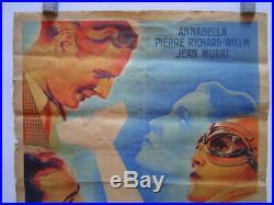 Affiche Lithographie Cinema Anne Marie / Antoine Saint Exupery / Aviation 1936