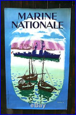 Affiche Marine Nationale Even