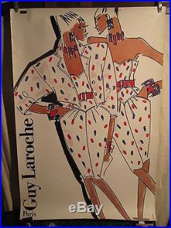 Affiche Mode Guy Laroche Femmes Graphisme Deco