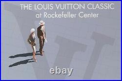 Affiche Originale Louis Vuitton Classic Razzia Rockefeller Center New York