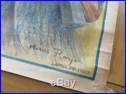 Affiche Originale Wwi Marne Yser Verdun Alsace Lorraine Henri Royer 60x80 Poilu