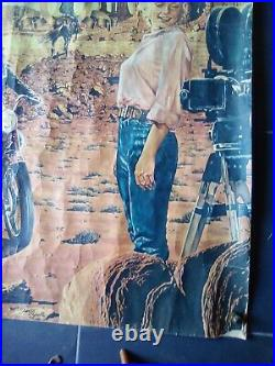 Affiche PIERRE PEYROLLE-LEVI'S James Dean Marilyn Monroe 1968