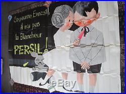 Affiche Persil Enfants Sympa Grande