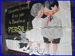 Affiche Persil Lessive Enfants Sympa