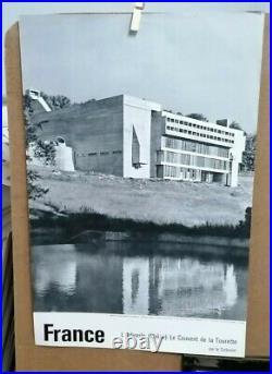 Affiche Photo Ancienne L' Arbresle Couvent De La Tourette Rhone Le Corbusier