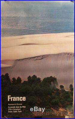 Affiche Photo Couleur Pour La Dune Du Pilat Arcachon