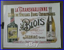 Affiche Pub Ancienne La Transvaalienne A Blois Jarnac Charente Liqueur