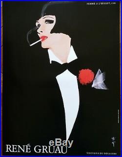 Affiche René Gruau