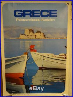 Affiche Tourisme Grece Peloponese
